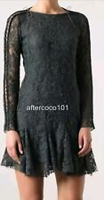 AUTH ISABEL MARANT MAGDA LACE DRESS RUFFLE SZ 42 US 8 TO 10 1480 $