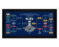 St. Louis Blues 2019 NHL Stanley Cup Champ 8x12 Photo Team picture poster Framed