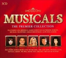 Musicals: The Premier Collection (CD, Oct-2012, 3 Discs, USM Media)
