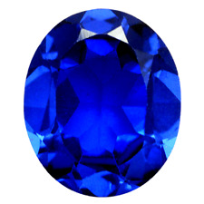 Lab Created Royal Blue Spinel AAA+ Oval Loose Gemstone (4x3mm - 30x20mm)