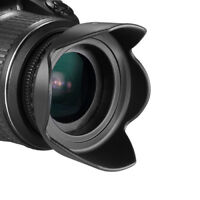 72MM Hard Tulip Shaped Lens Hood for Nikon Sigma Sony Fujifilm Olympus Rokinon