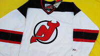 New With Tags New jersey Devils Jersey mens XL pro player nwt white eXtra large