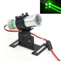 Thick Beam 532nm 50mW Green Dot Laser Module KTV Bar Stage +22mm Adjusted Holder