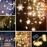 Christmas Snowflake 20 LED Fairy String Lights Garden Wedding Party Decor Lamps
