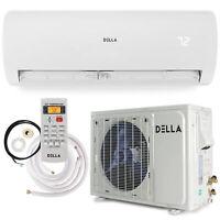 18000 BTU Inverter Heat Pump Air Conditioner Mini Split Wall Mount System 17SEER