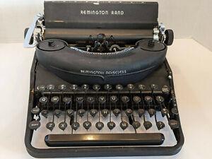 Vintage Remington Rand Noiseless Model 7 1932 Portable Desk Model USA RARE HTF