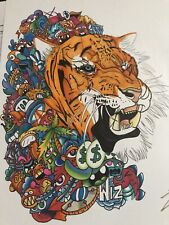 Japanese Custom Tiger Vexx 1 Of 1 Collectible Art