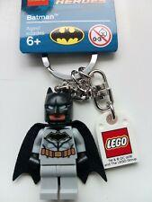 GENUINE LEGO BATMAN DC SUPERHEROES MINIFIGURE KEYRING