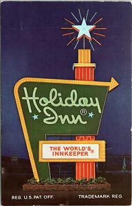 vintage postcard holiday inn brunswick georgia highway 17