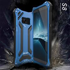Metall Gehäuse Stoßfest Backcover f Galaxy Note 8 S8 Plus Alu Rahmen Schutzhülle