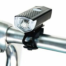 front USB rechargeable LED bike light for mountain road bikes bicycle BMX