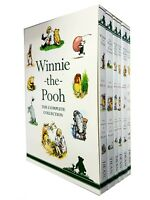 Winnie-the-Pooh The Complete Fiction Collection 6 Books Box Set by A. A. Milne