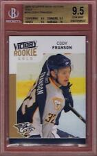 CODY FRANSON ROOKIE 2009-10 UPPER DECK VICTORY GOLD BGS 9.5 W/10 RC 09-10 UD