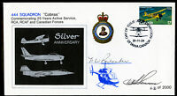 "Canada 1981 Royal Airforce RCAF ""Cobras"" First Day Cover FDC Signed by Pilots"