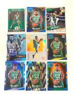 SEMI OJELEYE (9) ROOKIE CARDS LOT - No Dupes - Includes HOLO PRIZMS - Celtics