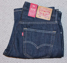 NWT • Men's LEVI'S 559 JEANS • Denim Pants • Dark Wash • Relaxed Straight
