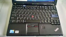 Used Lenovo Thinkpad  x201  500GB  Hard Drive 4GB RAM Memory  Windows 10  Laptop