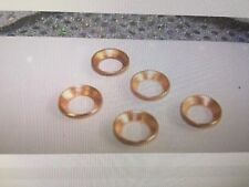 """Gaskets Copper Flare Rings 3/4"""" Improves the Seal"""