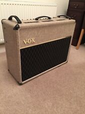 2001 Vox AC30/6 TB amplifier made in uk rare fawn tolex and blue alnico speakers