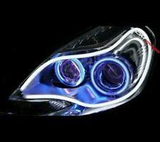 2PCS 30cm White Flexible Audi Style Neon Tube HeadLight -Maruti Suzuki Alto 800