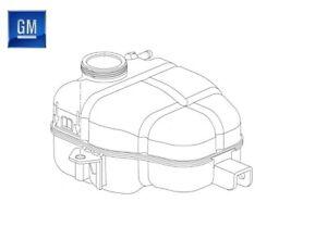 Genuine Vauxhall Meriva B Radiator Coolant Expansion Header Tank 13265592