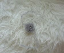Newborn Mohair Flower Headband. Great Photo Prop