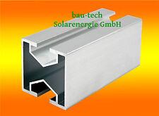 Montageprofil leicht 40 x 40mm mit Nut 10 Alu Aluprofil Solar Aluschiene
