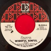 """THE DOORS Wishful Sinful - 1969 USA  7"""" vinyl single EXCELLENT CONDITION 45 film"""
