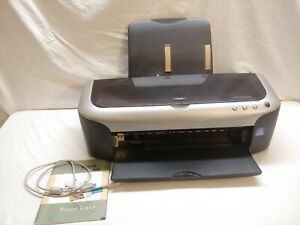 Epson Stylus Photo 2200 Ink Jet Printer *for parts or repair* untested no cord