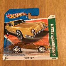 HOT WHEELS STUDEBAKER AVANTI SUPER TREASURE HUNT T-HUNTS SHORT CARD