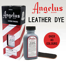 Angelus Leather Dyes - Great color Range over 20 Colours AU SELLER