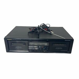 ONKYO TA-RW313 Stereo Dual Cassette Tape Deck Recorder R1 High Speed Dubbing