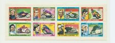 MOTORCYCLES Complete Topical Cancelled Set of 8 Stamps Equitorial Guinea
