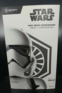 NEW Star Wars First Order Stormtrooper Robot With Companion App Disney