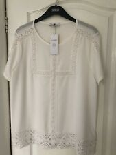 MArks  And Spencers Cream Top New Size 12
