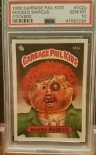 1986 Garbage Pail Kids 3rd series 102A MUGGED MARCUS PSA 10 Gem MINT 7239