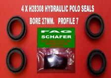 HYDRAULIC POLO SEALS 19MM PROFILE 15 4 X  H19316  F.A.G SCHAFER