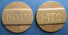 Telephone token - jeton - Russia - Smolensk- bronze 2 v. thin and thick letters