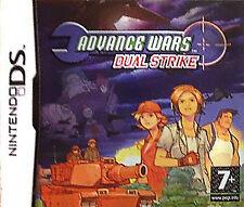 Advance Wars: Dual Strike (Nintendo DS, 2005) -