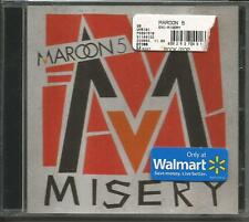 Adam Levine MAROON 5 Misery w/ Through with you LIVE LIMITED CD single SEALED
