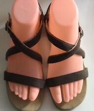 Women's CAMPER Leather Ankle Strap Sandals Sz 38