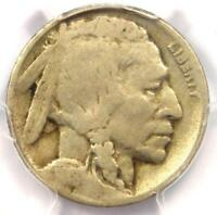 1918/7-D Buffalo Nickel 5C Coin - Certified PCGS G6 - Rare Overdate - $875 Value