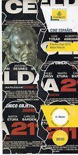 España Cine Español Hoja informativa del año 2010 (DF-395)