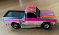 TYCO HP2 Chrome Chevy Pickup Truck Slot Car