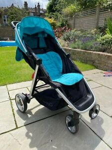 Oyster Lite Pushchair - Ocean With Rain Cover