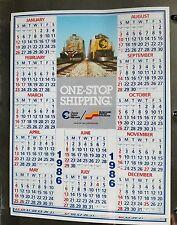 1986 Seaboard System Chessie CSX Railroad Calendar - FREE SHIP