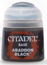 Warhammer 40 000 Citadel Base Paint - Abaddon Black | Games Workshop
