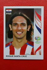 PANINI FIFA WORLD CUP GERMANY 2006 06 N. 129 PARAGUAY SANTA CRUZ MINT!!!