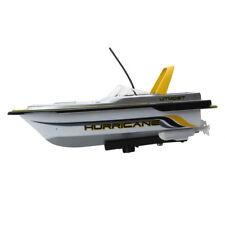 Miniature Mini 3352 Rc Boat Radio Remote Control Yellow Kid Toy V8U4