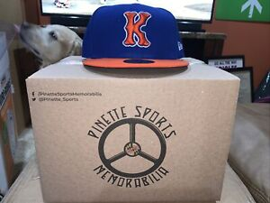 Kingsport Mets Fitted On Field New Era 5950 Cap Hat Size 8 New York NWT